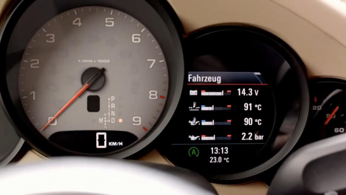Porsche-Start-Stopp