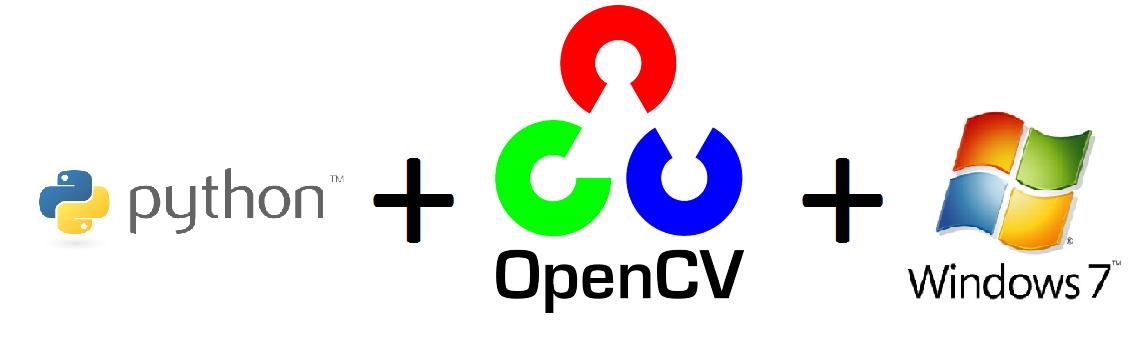 Python OpenCV Windows7