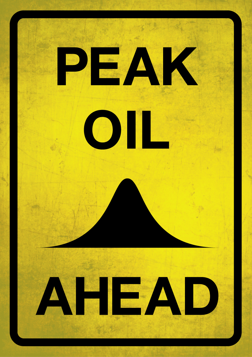 """Peak oil ahead"" von flickr.com User Viktor Hertz"
