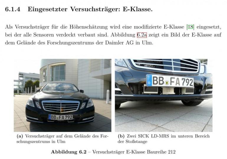 Auszug aus [Schmid, M. R. (2012). Umgebungserfassung für Fahrerassistenzsysteme mit hierarchischen Belegungskarten. Universität der Bundeswehr München. Retrieved from http://d-nb.info/1030485593/]