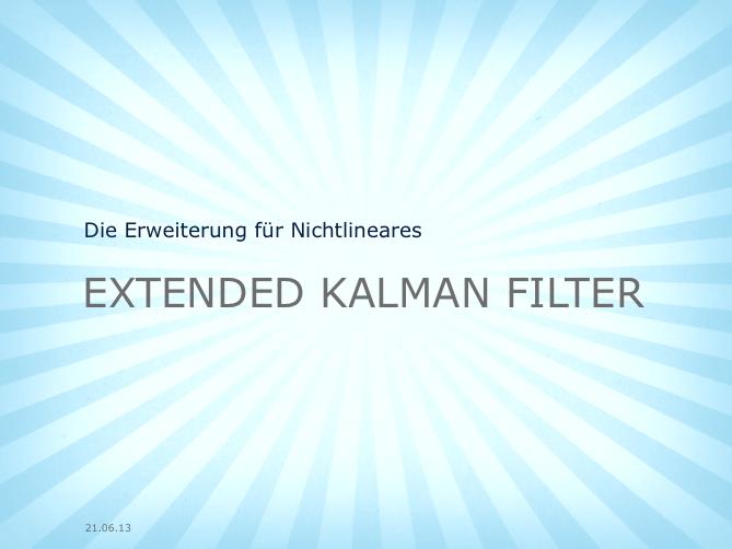 ExtendedKalmanFilter