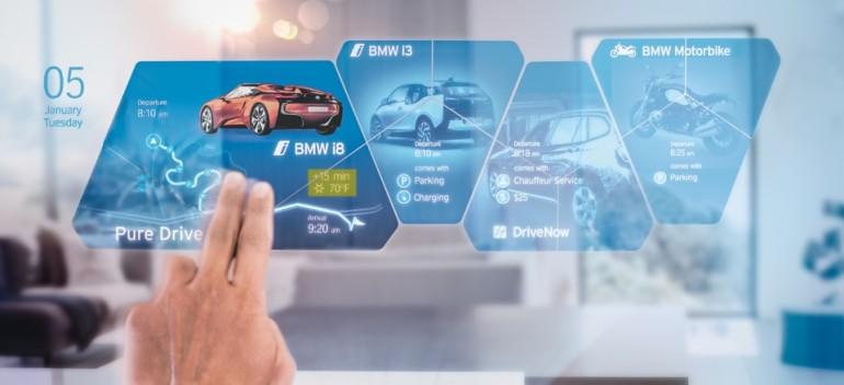 """Car as a Platform"" - aus Vortrag von Jens Monsees, Head of Digital Strategy, BMW Group"